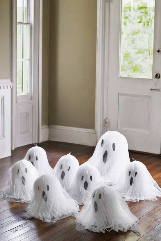 30 Easy Ghost Decorations Idea For Halloween Party Ecstasycoffee