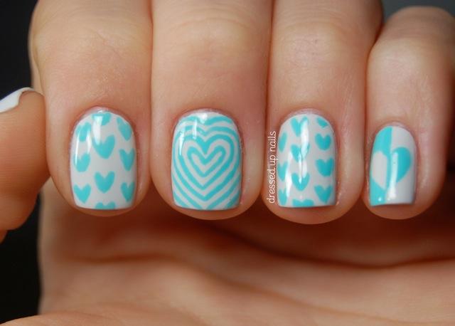 Aqua Hearts.