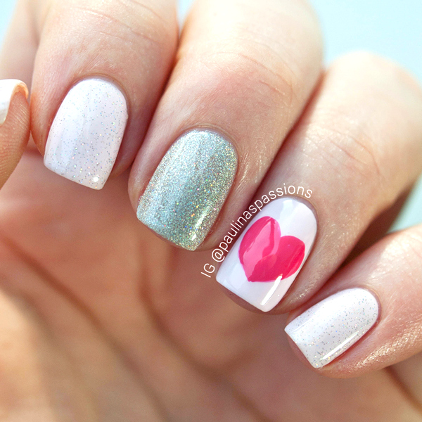 Easy Valentine Hearts.