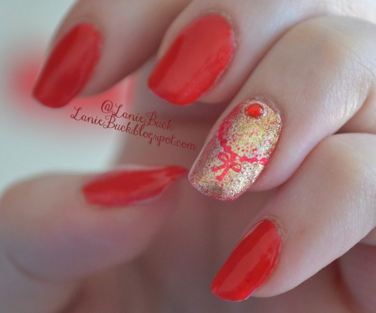 Love with Bows Nails.