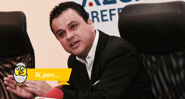 Esteban Bernal cuestiona la Ley de Reactivación Económica