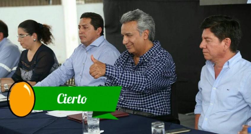Moreno habla sobre materia económica