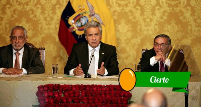 Moreno evalúa el feriado de Carnaval