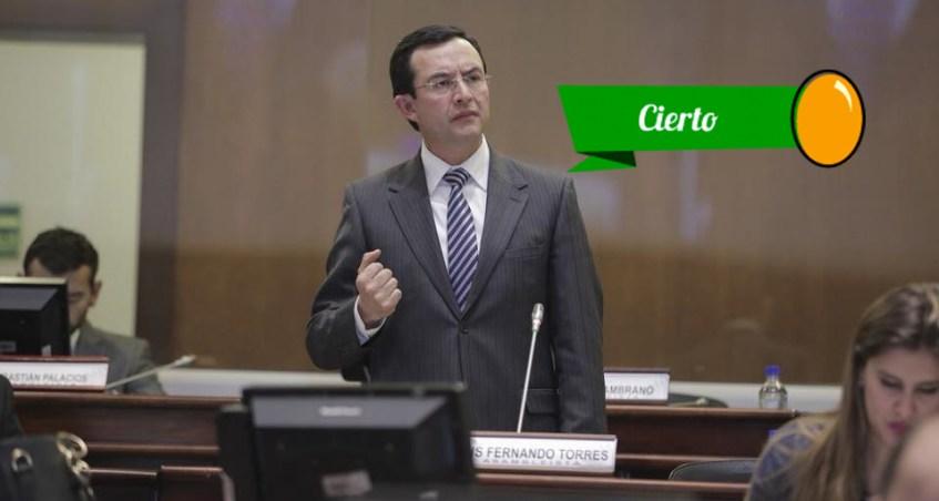 Torres discurre sobre la comisión ocacional especializada
