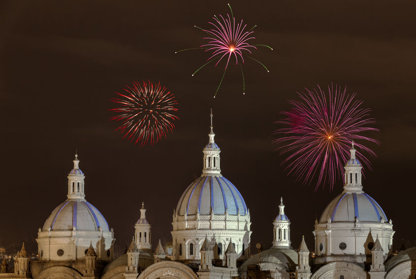 New Year's Eve in Ecuador