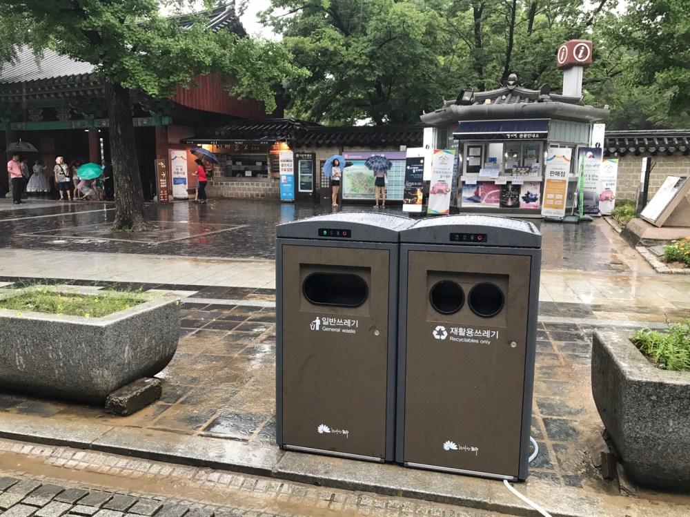 medium resolution of jeonju s solar powered trash compactors