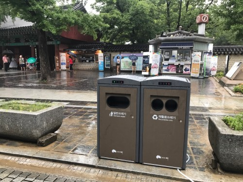 small resolution of jeonju s solar powered trash compactors