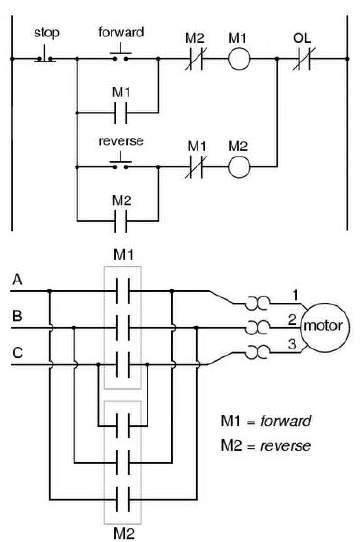 110v Motor Wiring Diagram Circuito Reversible Ecured
