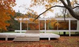 Casa Farnsworth Localizacion