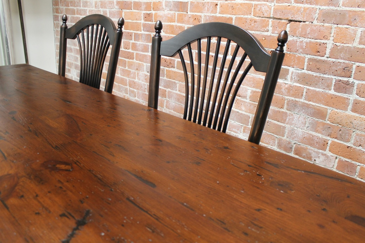Rustic Farm Table  ECustomFinishes