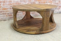 Modern Rustic Coffee Table - ECustomFinishes