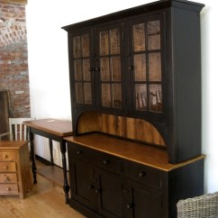 Farmhouse Chairs For Sale Antique Oak Rocking Chair Hutch In Black Finish - Ecustomfinishes