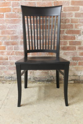 solid wood chairs rifton feeding chair farmhouse dining built from cambridge side arm stool available
