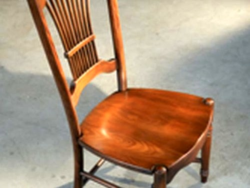Fan Back Dining Chairs  ECustomFinishes