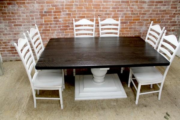 Large Square Farm Table - Ecustomfinishes
