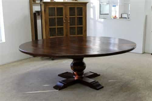 large kitchen table one handed equipment 84 round dining ecustomfinishes