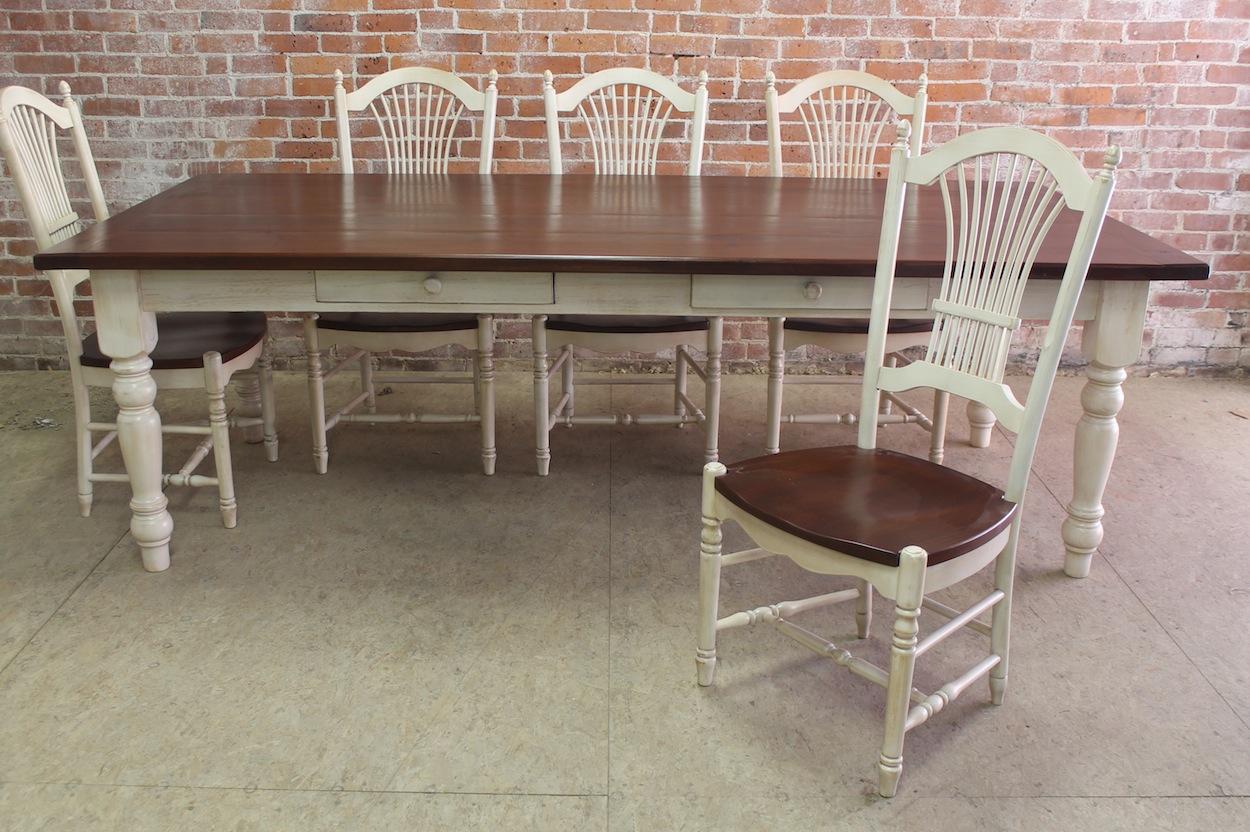 Classic Farm Table Defined  ECustomFinishes