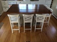 Barn Wood Kitchen Island - ECustomFinishes