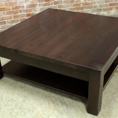 Salvaged Kitchen Cabinets For Sale Science Square Parsons Coffee Table In Espresso - Ecustomfinishes