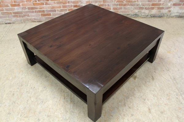 Espresso Square Coffee Table