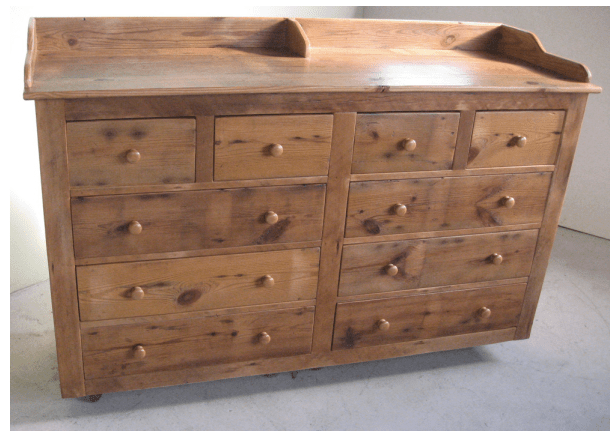 large bedroom dresser with 10 drawers  ECustomFinishes