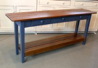 Sofa Table With Shelf Owings Console Table With 2 Shelves