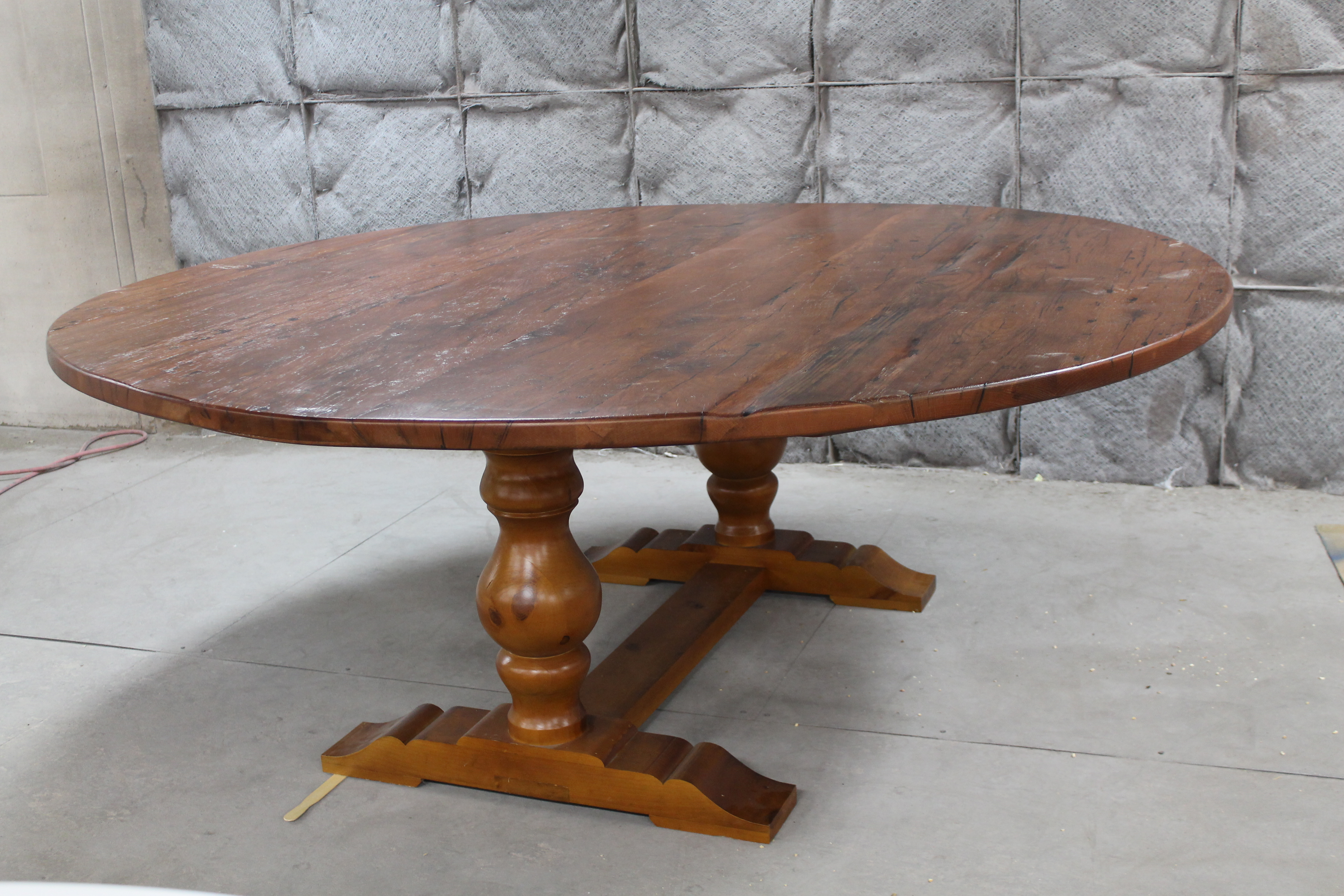 Solid Wood Round Dining Table Leaf