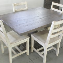 Oak Farmhouse Chairs Cracker Barrell Rocking Chair Extra Wide Dining Table In Driftwood Finish
