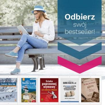 """""""Odbierz swój bestseller"""" – pobierz za darmo jedną z pięciu książek od Ebookpoint"""