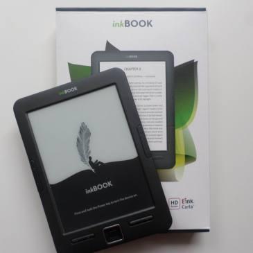 inkBOOK Classic – polski czytnik z ekranem E Ink Carta
