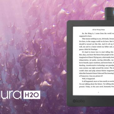 Kobo Aura H2O Edition 2 w przedsprzedaży od 15-ego maja