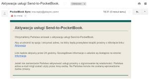 Jak założyć konto w usłudze Send-to-PocketBook 3