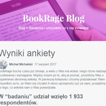 Wyniki ankiety BookRage