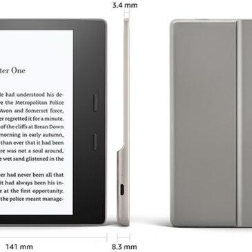 Nowy, wodoodporny czytnik Amazonu – powitajmy Kindle Oasis 2