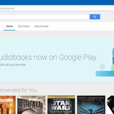 Audiobooki w Google Play zbliżają się wielkimi krokami?