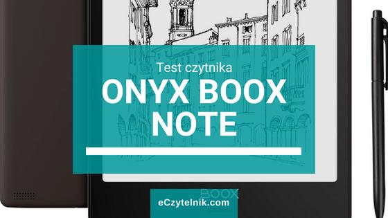 Test ONYX BOOX Note