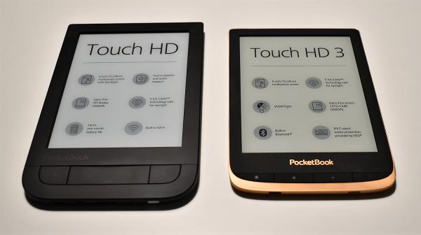 Porównanie modeli PocketBook Touch HD i Touch HD 3