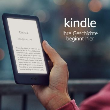 Pierwsza okazja na All-new Kindle (-20€) i kolejna zniżka na Kindle Paperwhite IV (-30€) w niemieckim Amazonie