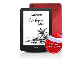inkBOOK Calypso Plus - czerwony