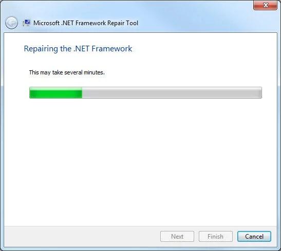 .Net Framework Repair Tool, reparación completa de .Net Framework
