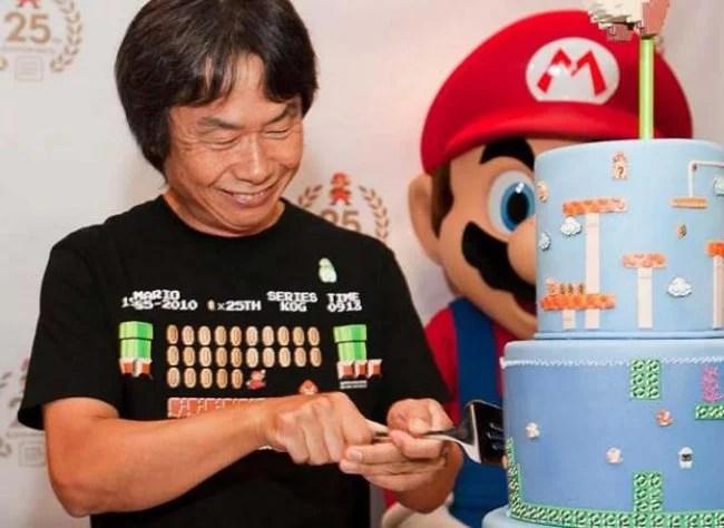 Shigeru Miyamoto, creador de Mario