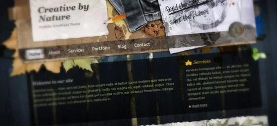 Creative By Nature WordPress Theme