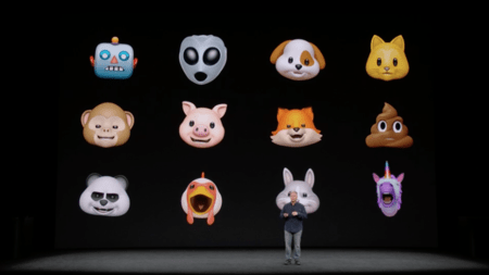 animojis iPhone x