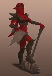 RedAlienWarrior