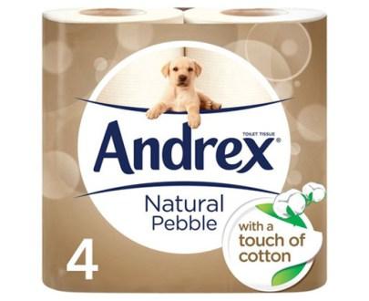 Andrex Natural £1.99 4Rollsx6