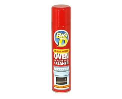 Big D Oven Cleaner 6X300Ml