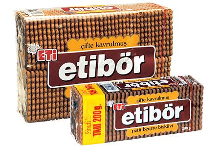 1602900 Eti Tea Biscuits Cacao 12X370Gr