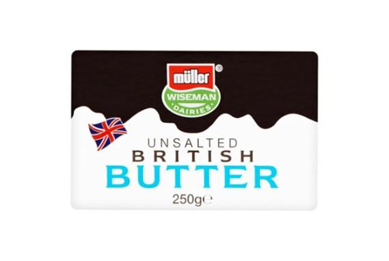 Muller Unsalted Butter 20X250G