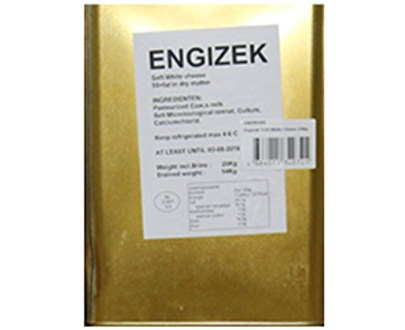 Engizek White Cheese  %55  15Kg
