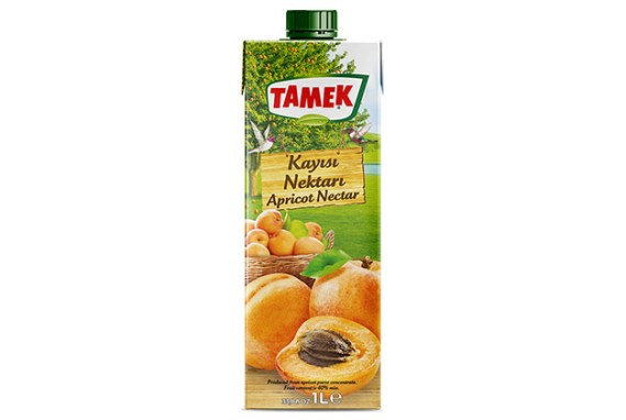 Tamek Juice 12X1Lt Apricot Nectar